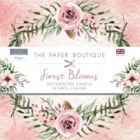The Paper Boutique Forest Blooms 7x7 Panel Pad - DISPATCHING WEDNESDAY 24th APRIL