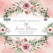 The Paper Boutique Forest Blooms 7x7 Panel Pad