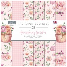 The Paper Boutique - Grandma's Garden 8x8 Paper Pad