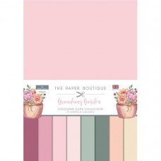 The Paper Boutique - Grandma's Garden Colour Card Collection