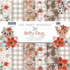 Paper Boutique - Happy Days 8x8 Paper Pad