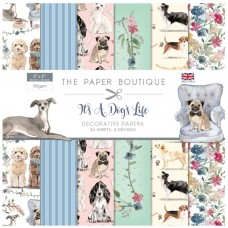 The Paper Boutique - It's A Dog's Life 8x8 Paper Pad
