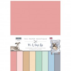 The Paper Boutique - It's a Dogs Life Colour Card Collection