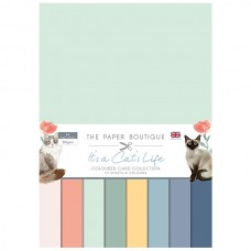 The Paper Boutique - It's a Cat's Life Colour Card Collection