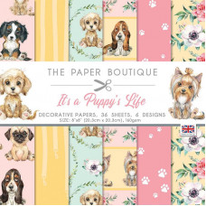 The Paper Boutique - It's a Puppy's Life 8 in x 8 in Paper Pad