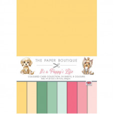 The Paper Boutique - It's a Puppy's Life Colour Card Collection