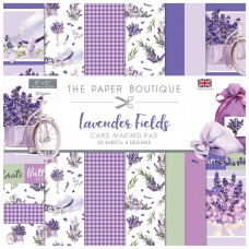 The Paper Boutique - Lavender Fields 12×12 Card Making Pad