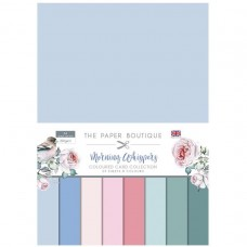 The Paper Boutique - Morning Whispers Colour Card Collection