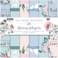 The Paper Boutique - Morning Whispers 8x8 Panels & Sentiments Pad