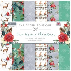 The Paper Boutique - Once Upon a Christmas 8x8 Paper Pad