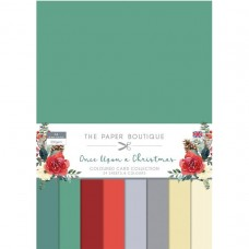 The Paper Boutique - Once Upon a Christmas Colour Card Collection