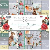 The Paper Boutique - Once Upon a Christmas 8x8 Embellishment Pad