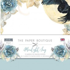 The Paper Boutique - Moonlight Song 8x8 Card & Envelope Pack