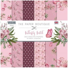 Paper Boutique - Butterfly Ballet 8x8 Paper Pad
