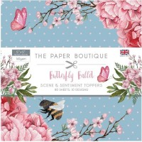 Paper Boutique - Butterfly Ballet 5x5 Sentiments Pad
