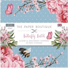 Paper Boutique - Butterfly Ballet 5x5 Sentiments Pad