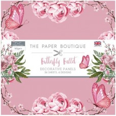 Paper Boutique - Butterfly Ballet 7x7 Panel Pad