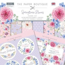 Paper Boutique Springtime Blooms Paper Kit
