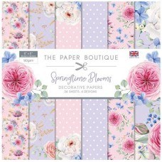 The Paper Boutique - Springtime Blooms 8x8 Paper Pad