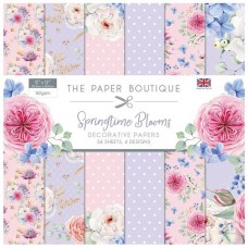 The Paper Boutique - Springtime Blooms 12x12 Paper Pad