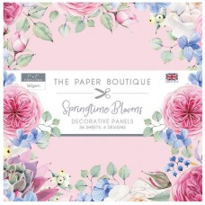 The Paper Boutique - Springtime Blooms 7x7 Panel Pad