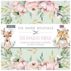 Paper Boutique Magical Forest 5x5 Sentiments Pad