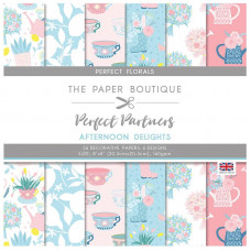 The Paper Boutique - Perfect Partners Afternoon - Delights 8×8 Florals