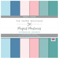 The Paper Boutique - Perfect Partners - Afternoon Delights 8×8 Solids