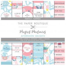 The Paper Boutique - Perfect Partners - Afternoon Delights 8×8 Toppers