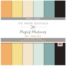 The Paper Boutique Perfect Partners – Bee Fabulous 8×8 Solids