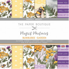 The Paper Boutique - Perfect Partners – Bumblebee Garden 8×8 Medley