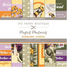 The Paper Boutique - Perfect Partners – Bumblebee Garden 8×8 Embellishments