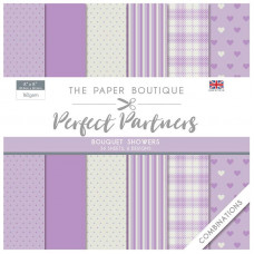 The Paper Boutique - Perfect Partners - Combinations 8×8 Bouquet Showers
