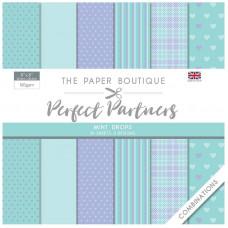 The Paper Boutique - Perfect Partners - Combinations 8×8 Mint Drops