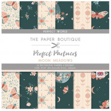 The Paper Boutique Perfect Partners – Moon Meadows 8×8 Florals