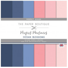 The Paper Boutique Perfect Partners – Ocean Blossoms 8×8 Solids