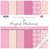 Paper Boutique - Perfect Partners - Strawberry Cupcake Combinations