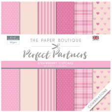 The Paper Boutique - Perfect Partners - Strawberry Cupcake Combinations
