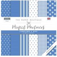 The Paper Boutique Perfect Partners 8×8 Paper Pad – Cornflower