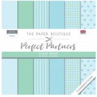 The Paper Boutique Perfect Partners 8×8 Paper Pad – Ocean Breeze