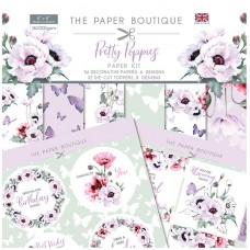 The Paper Boutique - Pretty Poppies Paper Kit