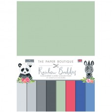 The Paper Boutique - Rainbow Buddies Colour Card Collection