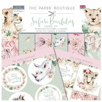 The Paper Boutique - Safari Buddies Paper Kit