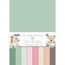 The Paper Boutique - Safari Buddies Colour Card Collection
