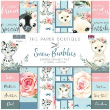 The Paper Boutique - Snow Buddies 8x8 Embellishments Pad