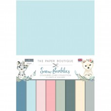 The Paper Boutique - Snow Buddies Colour Card Collection