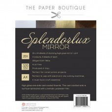 The Paper Boutique - Splendorlux Mirror Card