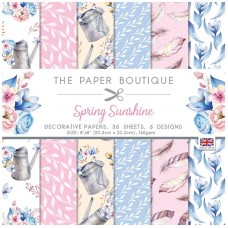 The Paper Boutique - Spring Sunshine 8×8 Paper Pad