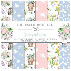 The Paper Boutique - Spring Whispers 8×8 Paper Pad