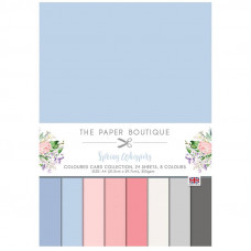 The Paper Boutique - Spring Whispers Colour Card Collection